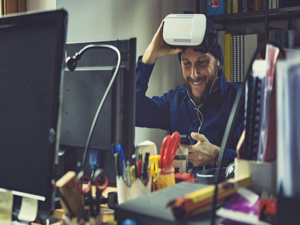 AR / VR разширена реалност и виртуална реалност